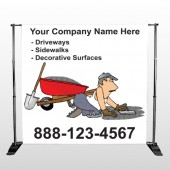 Paving 262 Pocket Banner Stand