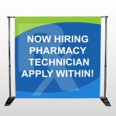 RX Hiring 286 Pocket Banner Stand