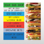 Sandwich 375 Custom Decal