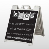 Blog Line 430 A Frame Sign