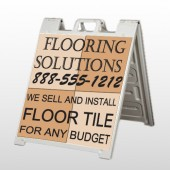 Flooring 247 A Frame Sign