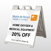 Home Oxygen 139 A-Frame Sign