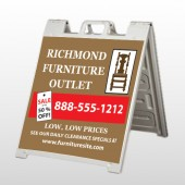 Outlet Chair 527 A Frame Sign