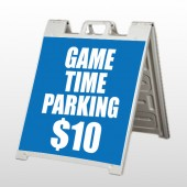 Parking 123 A Frame Sign