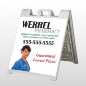 Pharmacist 104 A-Frame  Sign