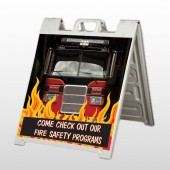 Safety Program 427 A Frame Sign
