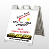 Towing 125 A Frame Sign
