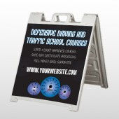 Traffic School 152 A Frame Sign
