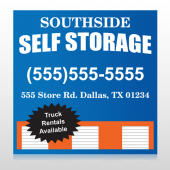 Storage Building 120 Site Sign