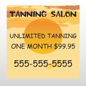Tanning Sun 296 Custom Decal