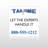 Tax Time 171 Site Sign