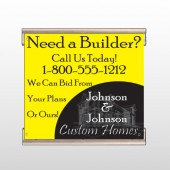 Yellow House Plan 216 Track Banner