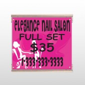Elegant Nails 643 Track Sign