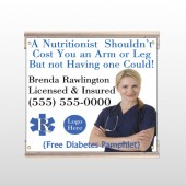 Nutritionist 46  Track Sign