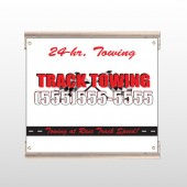 Towing 126 Track Sign