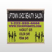 Uptown Salon 642 Track Sign