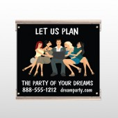 Party Planning 519 Track Sign