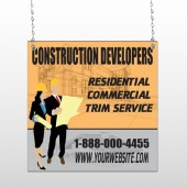Contractors 645 Window Sign