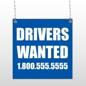 Drivers Wanted 314 Window Sign