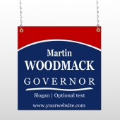 Governor 132 Window Sign