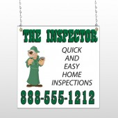 Inspector 361 Window Sign