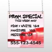 Pink Polish 486 Window Sign