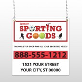 Sporting Goods 528 Window Sign