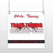 Towing 126 Window Sign