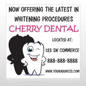 Winking Tooth 501 Custom Sign