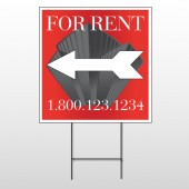 Buildings 228 Wire Frame Sign