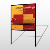 Art Furnishing 535 H Frame Sign