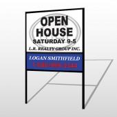 House Emblem 857 H-Frame Sign