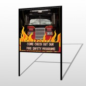 Safety Program 427 H-Frame Sign
