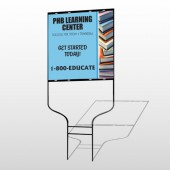 Book Learning 156 Round Rod Sign