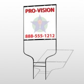 Property Management 363 Round Rod Sign