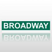 Broadway 217 Street Sign