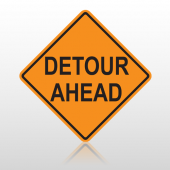 Detour 10099 Road Sign