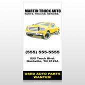 Black Yellow Truck 117 Custom Decal