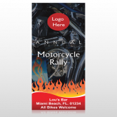 Motorcycle Flame 107 Custom Decal
