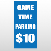 Parking 123 Custom Decal