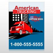 American Truck 295 Custom Decal