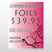 Cherry Salon 288 Custom Decal