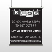 Blog Line 430 Hanging Banner