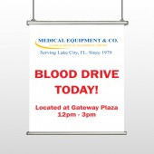 Blood Drive 330 Hanging Banner