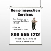Home Inspection 360 Hanging Banner