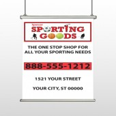 Sporting Goods 528 Hanging Banner