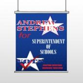 Superintendent 306 Hanging Banner