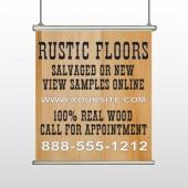 Wood Panel 248 Hanging Banner