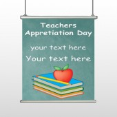 Apple Books Pencil 07 Hanging Banner