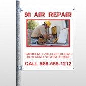 AC Repair 251 Pole Banner
